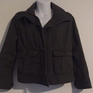 Ambercrombie and Fitch military style jacket